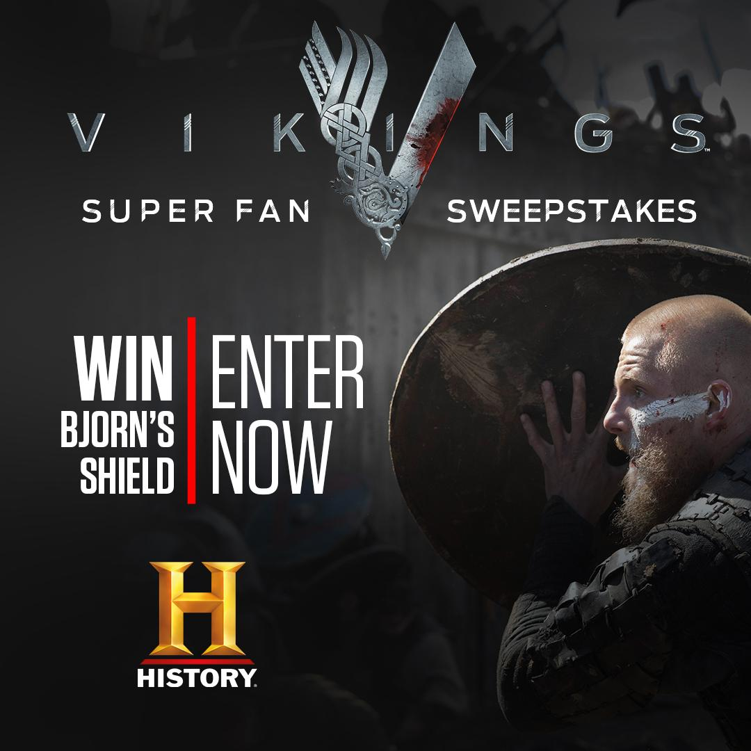 Are you a Vikings super-fan? Enter now to win Bjorn's shield!  https://t.co/RGGI5QoHl3 https://t.co/1lH0QD1kYC