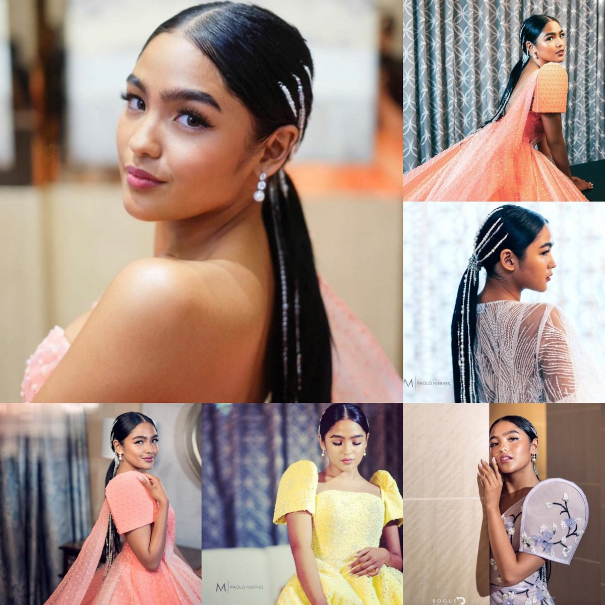 Ms. #AndreaBrillantes at the ABS CBN Ball 2019  #PearlOfTheOrient  #CoralGown #BelleoftheBall #MichaelLeyva #EldzMejia #MarbenTalanay #JojoBragais #RJDelaCruz #Apartment8