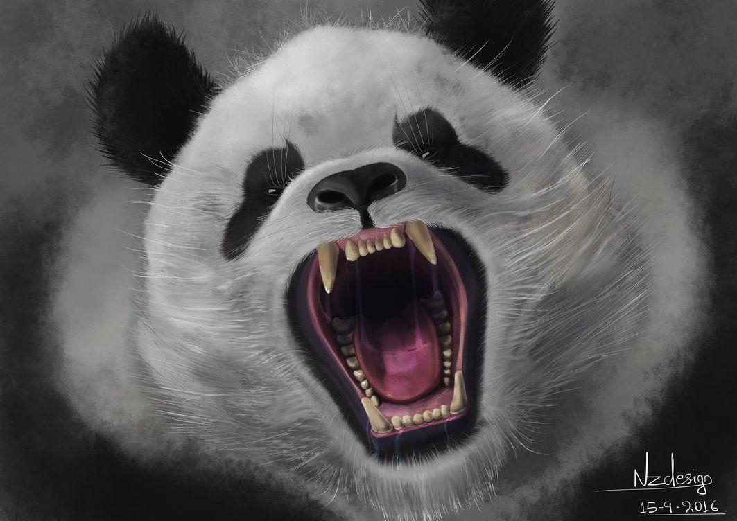 Картинки злые панды