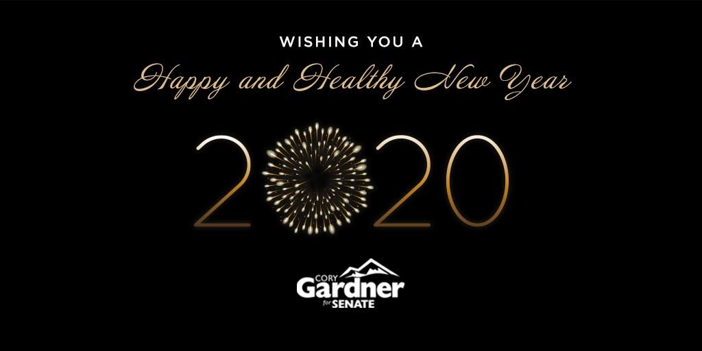 I hope you had an incredible 2019 and are looking forward to an even better 2020. Happy New Year Colorado!