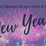Image for the Tweet beginning: Cheers to the New Year!