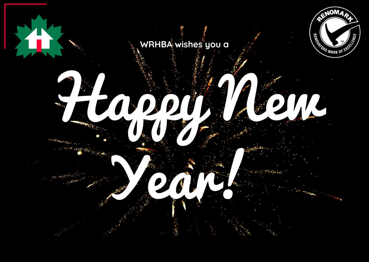 WRHBA wishes everyone a very Happy New Year! Here's to 2020! pic.twitter.com/snuoyO0uQN