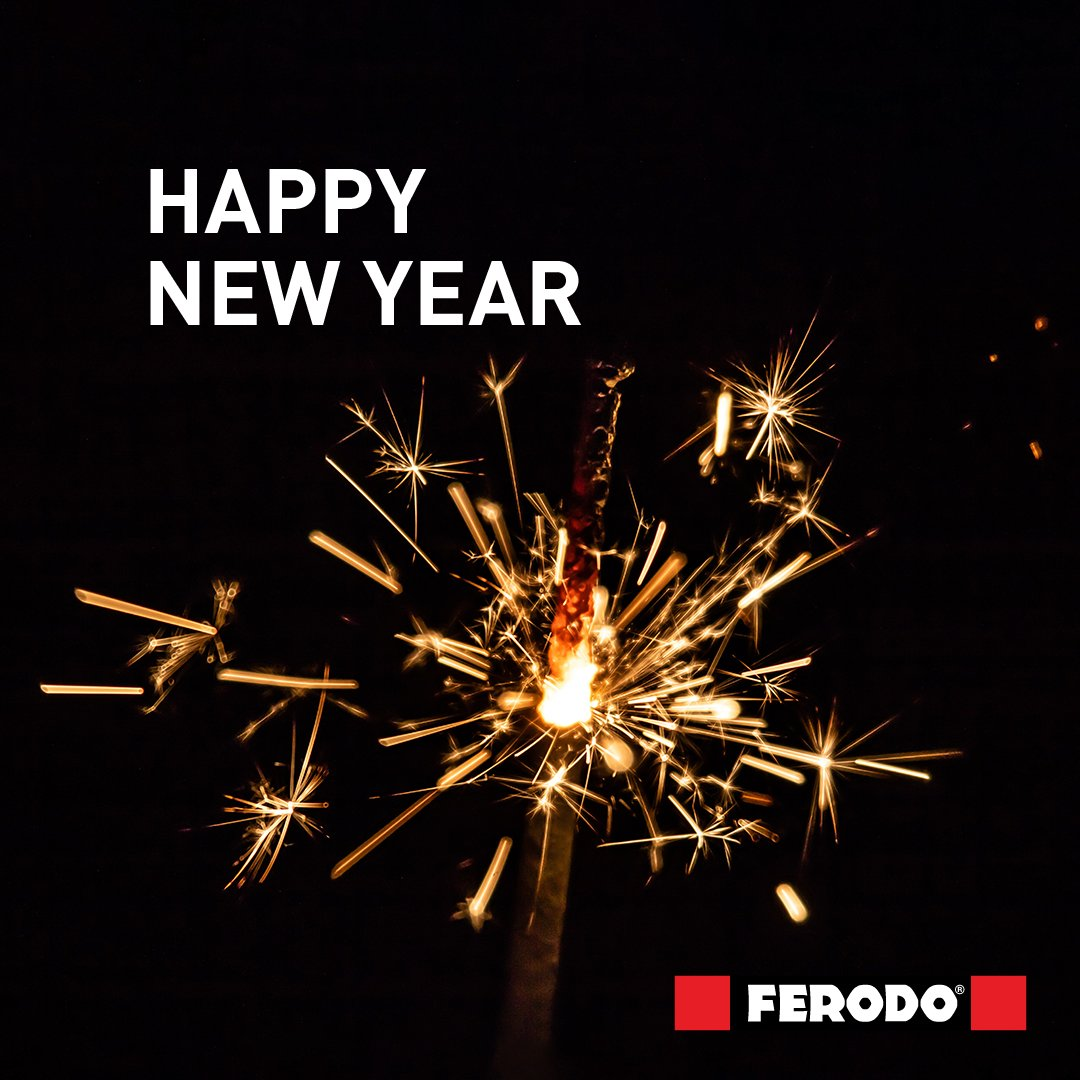 Happy new year! Let nothing but Ferodo brakes stop you in 2020! https://t.co/9wDUW9fqDl