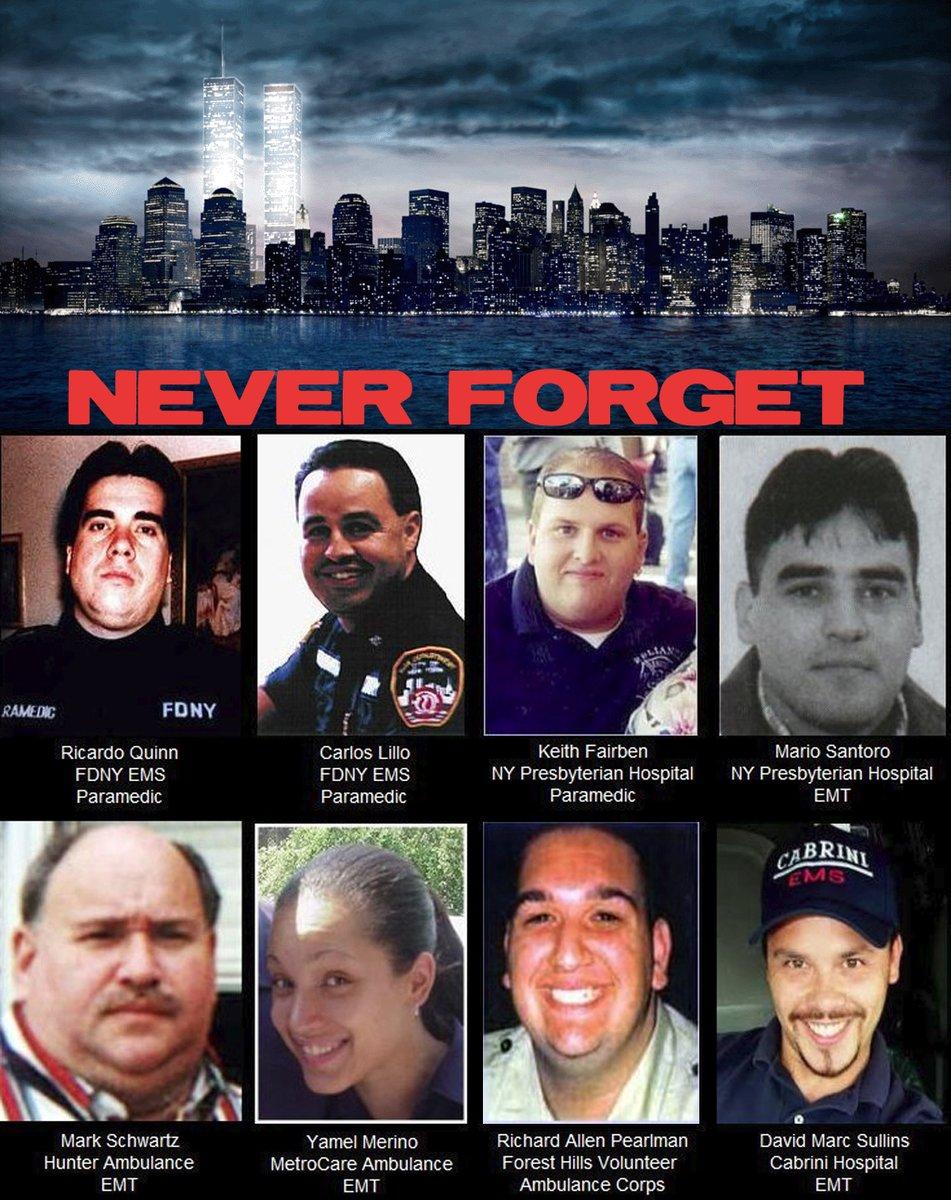 EMS Providers Recall 9/11