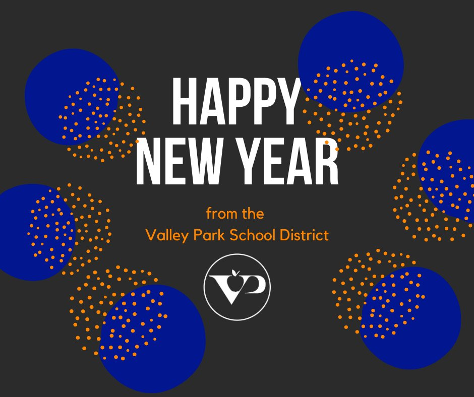 Have a wonderful new year from the Valley Park School District! #VPpride