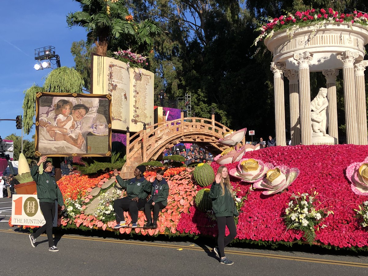 Rose Parade On Twitter Marking Their Centennial Year The Huntington Library Art Museum Botanical Gardens Is Cultivating Curiosity With Iconic Architectural Artistic Literary Botanical Treasures That Have Inspired Generations