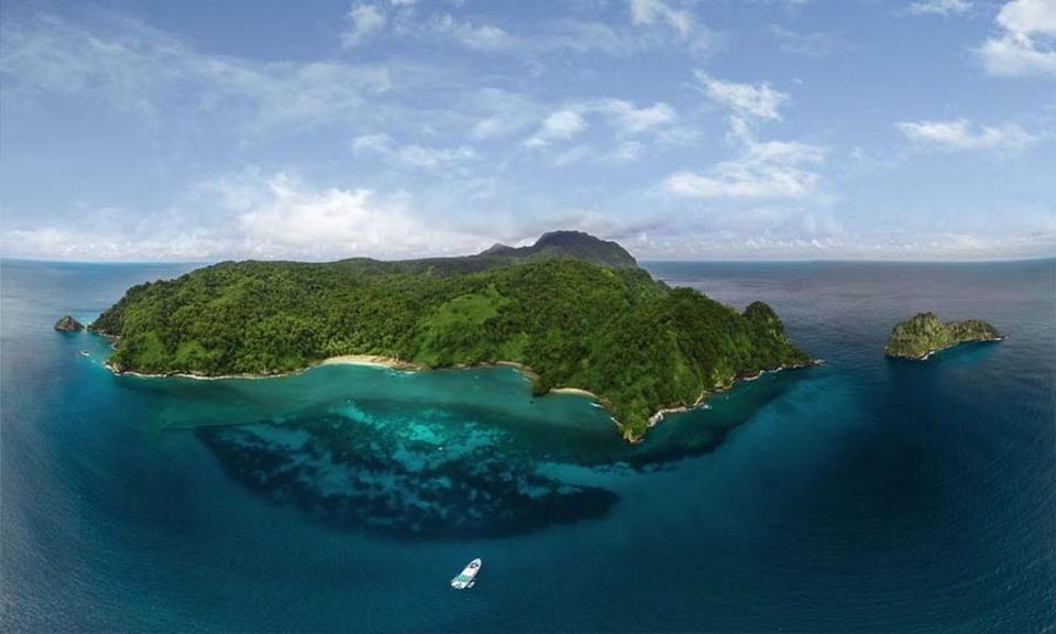 Фото остров као в тихом океане