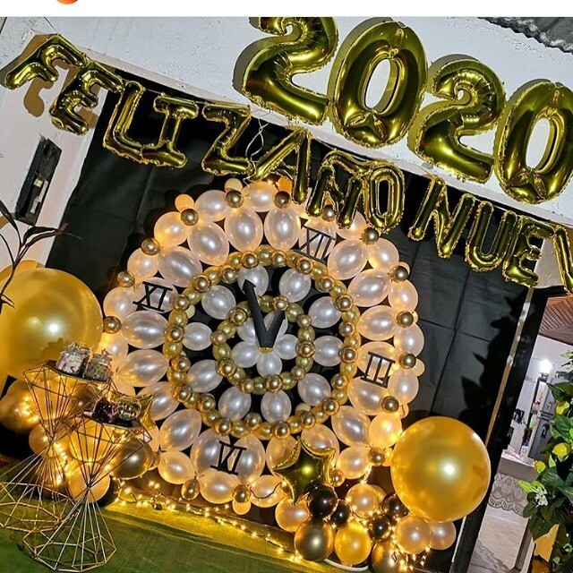 This is such an awesome design by @disenosenicopor with@gemarballoons! I will make that next #NYE!  #corporateeventdecorations #specialevents #balloondelivery #ballooncolumns #balloondecor #ballondecoration #balloonarch #knoxville #seviercounty #s… https://ift.tt/2MPfczopic.twitter.com/WwBOnwqYJm