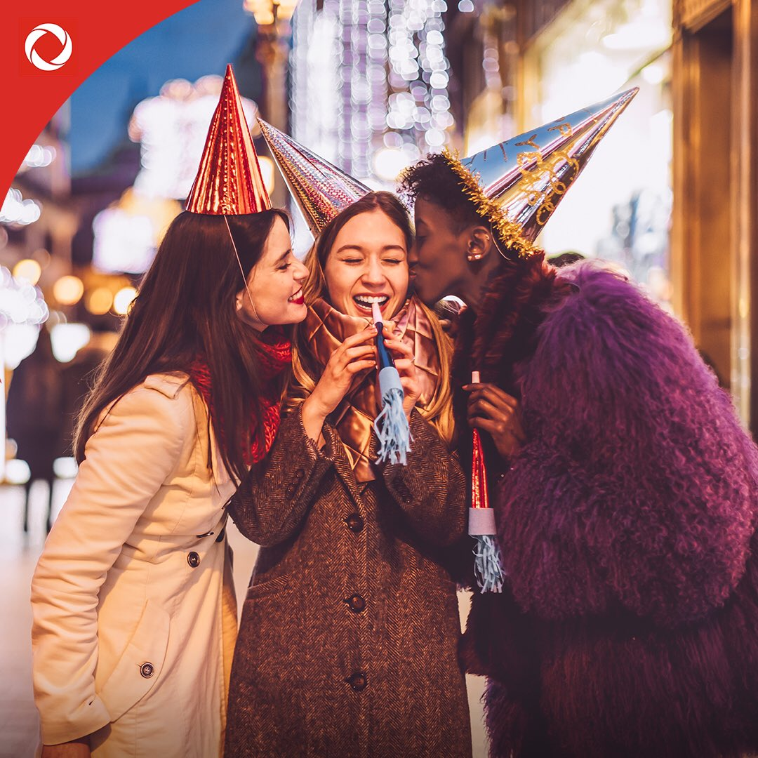 Cheers to a new year full of new possibilities. Happy New Year's from Rogers!