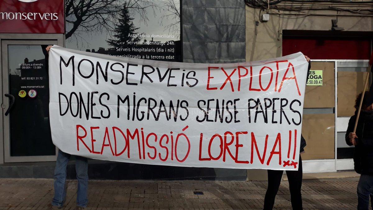 """#CGT #Berguedà على تويتر: """"Ja som al 2020. #Monserveis (Xavier Pubill  Cunill) segueix, malgrat les denúncies i les inspeccions, amb més de 15  treballadores explotades sense Seguretat Social i sense cap dret, pq no  tenen papers... I vol seguir fent-ho ..."""
