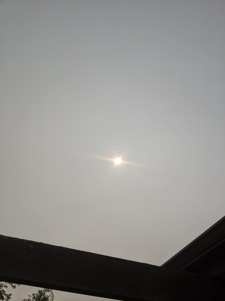 @SavIsSavvy Looking a tad hazy...from the Australian bush fires apparently.