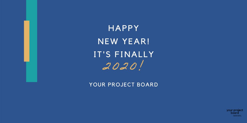 We're wishing you all a Happy New Year! Now, let's get this show on the road.  #yourprojectboard #yourprojectbrd #virtualassistant #administrativeassistance #NewYear #entrepreneur #2020 #freshstart #entrepreneurlife #positivevibespic.twitter.com/eL7eevY86N