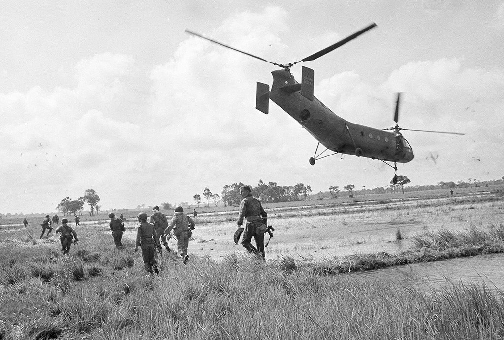 On this day in 1962, American helicopters ferry 1,000 South Vietnamese troops into battle against VC guerrillas near Saigon. Operation Chopper, as its known, represents a major escalation of US military involvement in Southeast Asia.