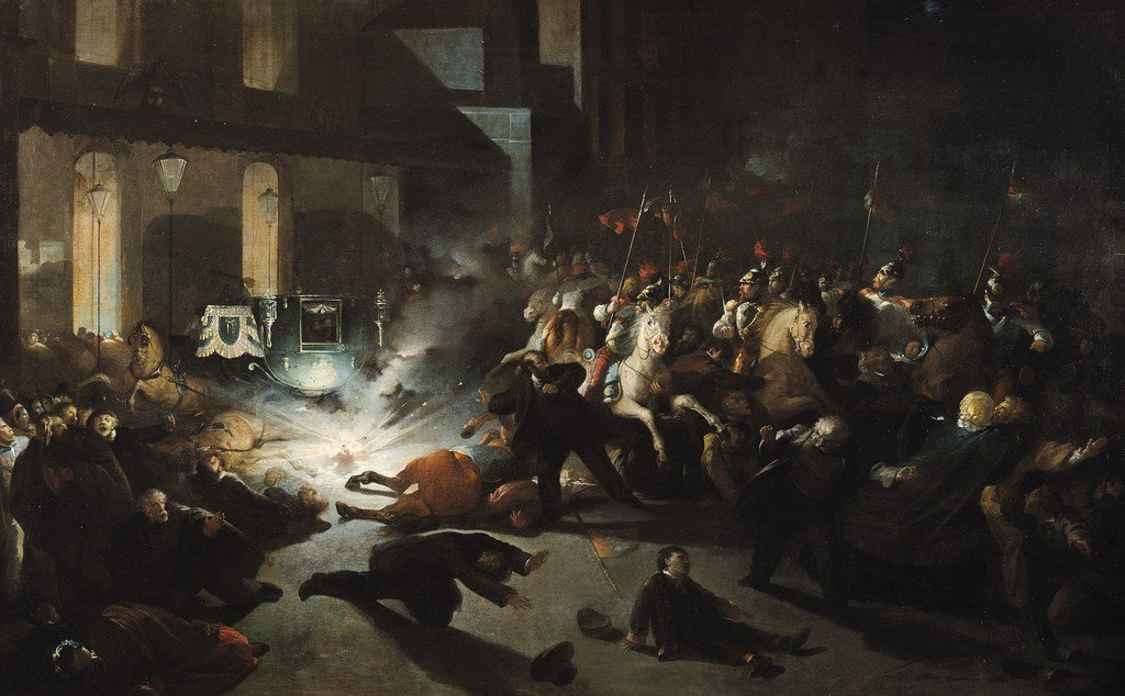 On this day in 1858, an Italian nationalist named Felice Orsini tries to blow up Napoleon IIIs carriage as it travels through the streets of Paris. When its discovered that the assassination plot is supported by English radicals, France threatens war against Great Britain.