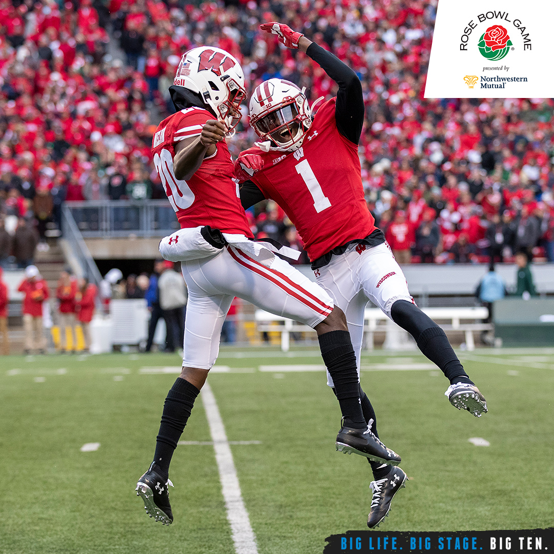 No. 8 @BadgerFootball is playing in a bowl game for the 18th straight season, the longest active streak in the Big Ten and tied for the fifth longest in the FBS.  #B1GFootball x #RoseBowl https://t.co/t75AWPrvnS