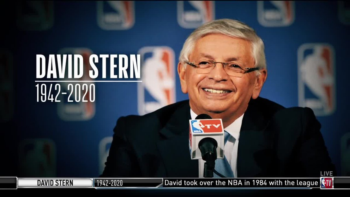 A pioneer who transformed the game.@TurnerSportsEJ remembers the life and legacy of former NBA commissioner David Stern.(via @NBATV)