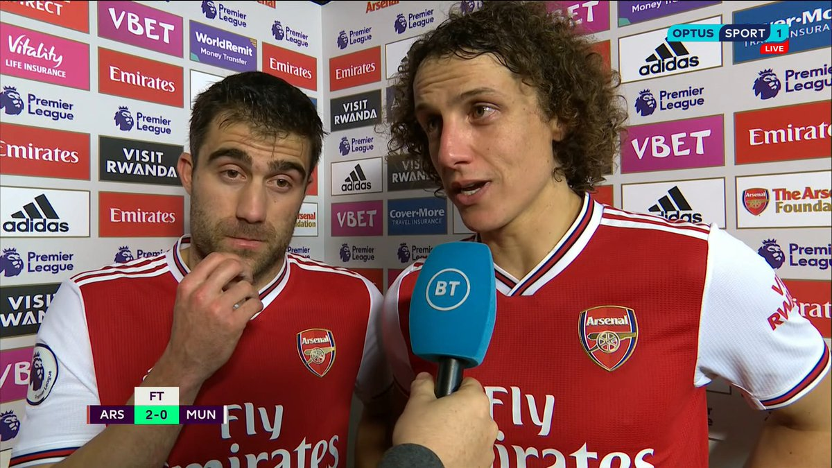 'We are happy in our work again, we are sleeping better.' 👀An extremely candid interview from David Luiz, which @IanWright0 interprets as criticism of former manager Unai Emery!#OptusSport #PL #ARSMUN