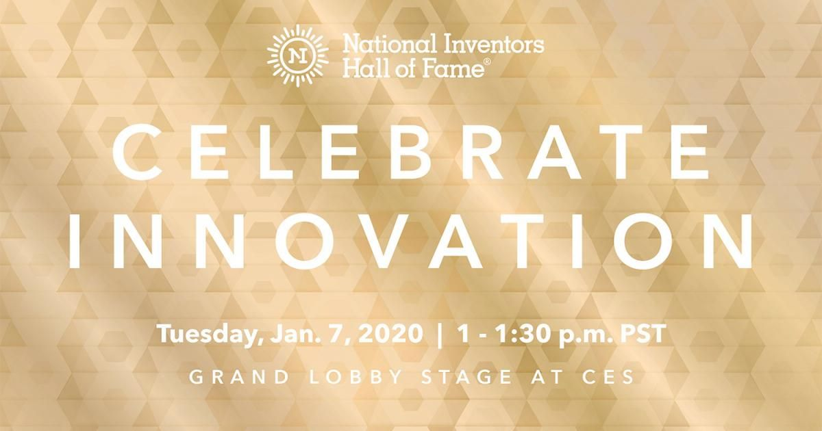 Tune in for the LIVE announcement of the next class of @InventorsHOF inductees at #CES2020. The 2020 class of Inductees will be revealed on the @CTATech Grand Lobby Stage on Tuesday, Jan. 7 at 1 pm PT.