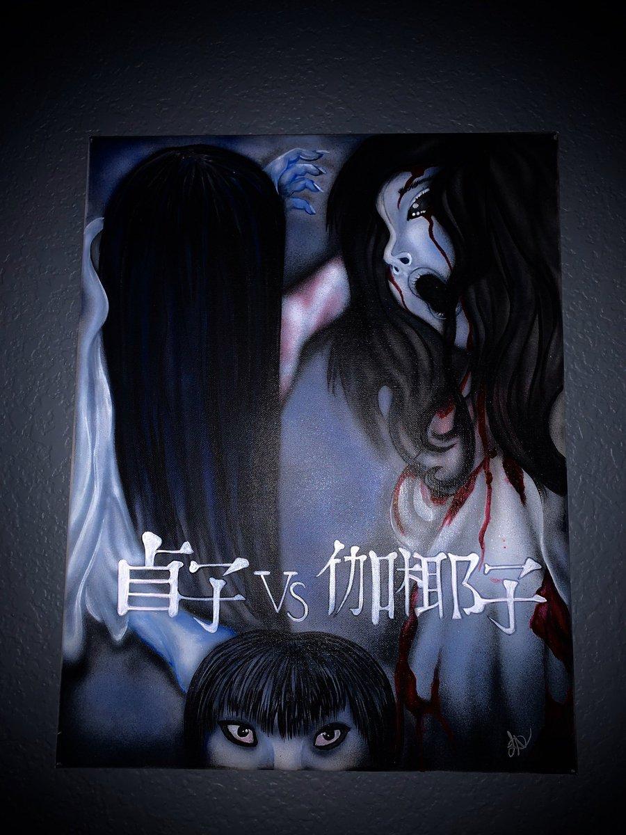 伽 椰子 vs 貞子 【貞子VS伽椰子】遭丈夫虐打肢解 伽椰子慘成怨魂 香港01 電影