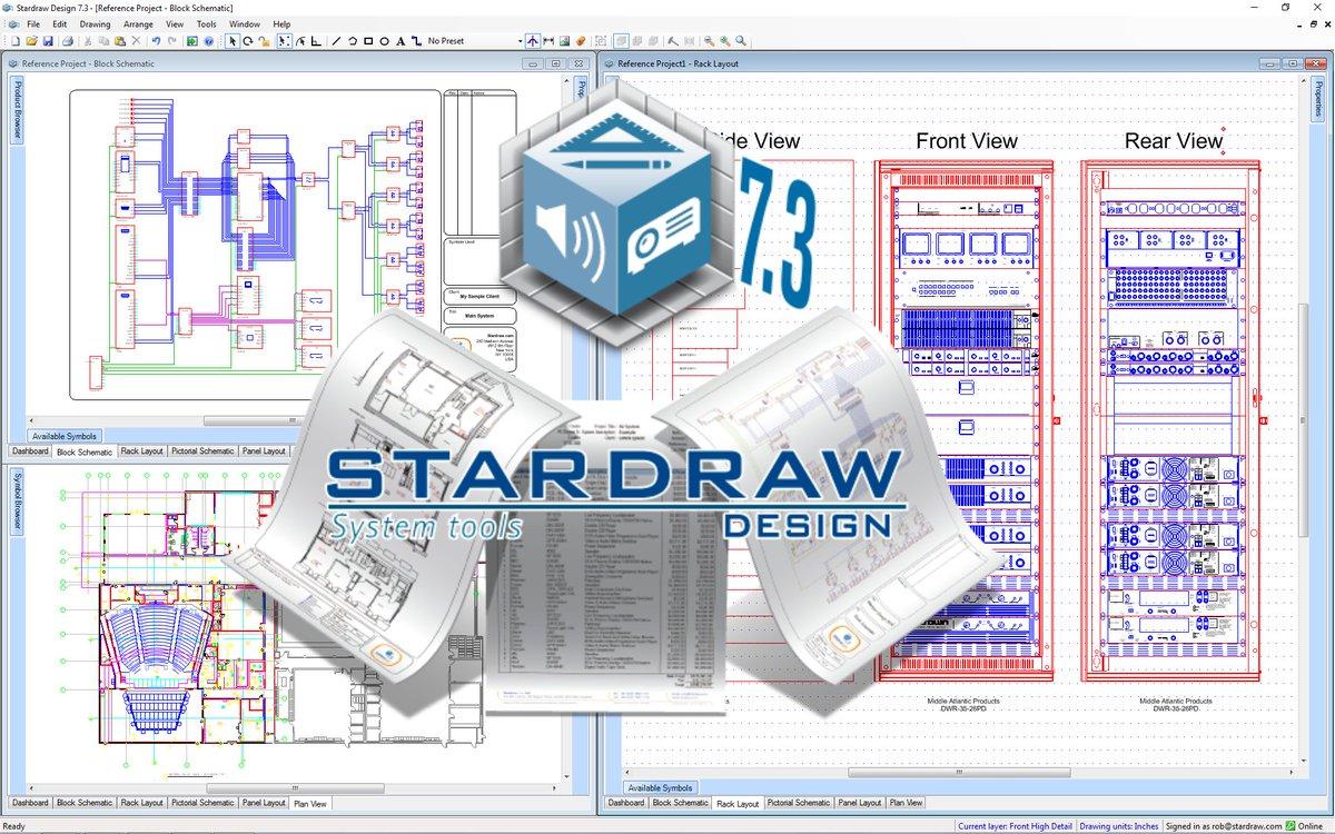 Free #Online #Training #Webinar Introduction: #Stardraw Design 7.3 Wed Feb 19th @5pm GMT https://www1.stardraw.com/stardraw/company/eventsandtraining… #CAD #Design #Documentation #Software #Audio #Video #Broadcast #Lighting #liveinstall pic.twitter.com/HYClucE8HF