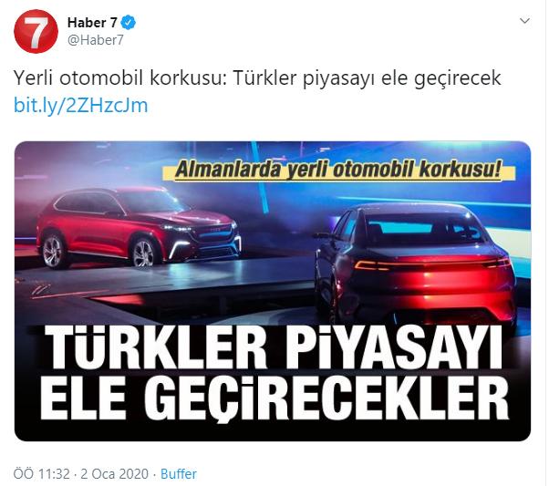 Geçtiğimiz ay yerli otomobil korkusundan 8, Kanal İstanbul korkusundan 5, Lozan anlaşması bitiyor korkusundan 4 Alman kalp krizi geçirerek yaşamını yitirdi. Almancada bu duruma backpfeifengesicht deniyor, anlamı da Türkiyedeki her şeyi kıskanıp korkuya kapılarak ölmek