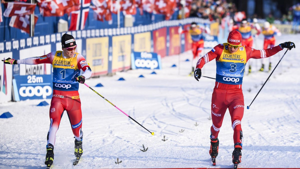 Смотреть онлайн этап кубка мира в Лахти по лыжным гонкам (29 февраля 2020). Интервальный старт. Классический стиль