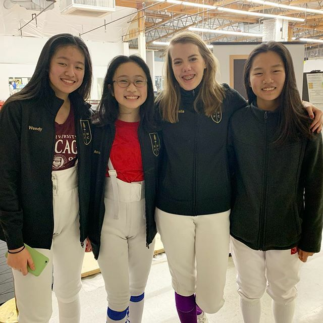 It's a great day to make goals for the New Year! Classes are on the normal schedule tomorrow. #NWFC #fencing #fencingfamily https://ift.tt/35hJ79M pic.twitter.com/HezPuyYbU8