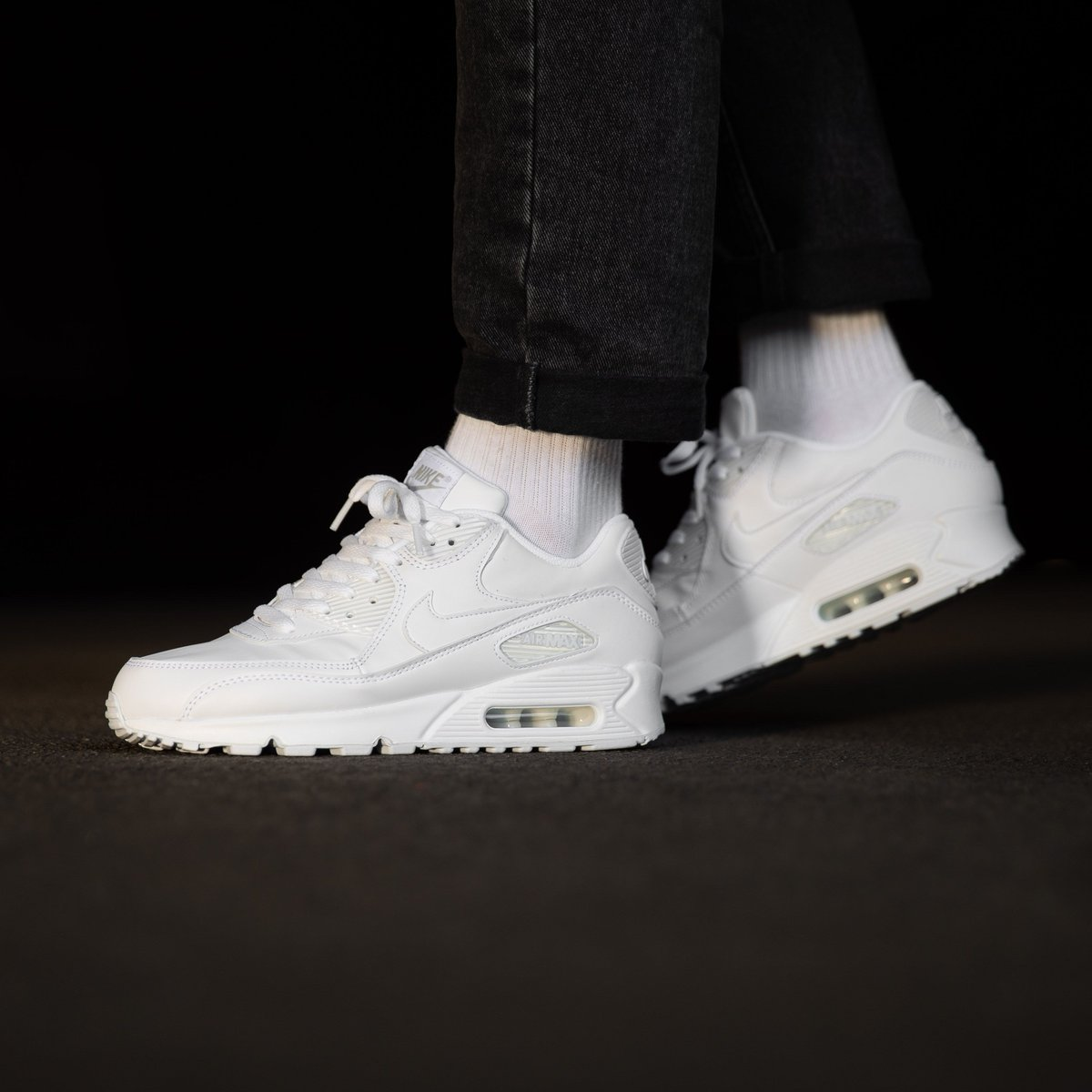 Shoes NIKE Air Max 90 Leather 302519 113 True WhiteTrue