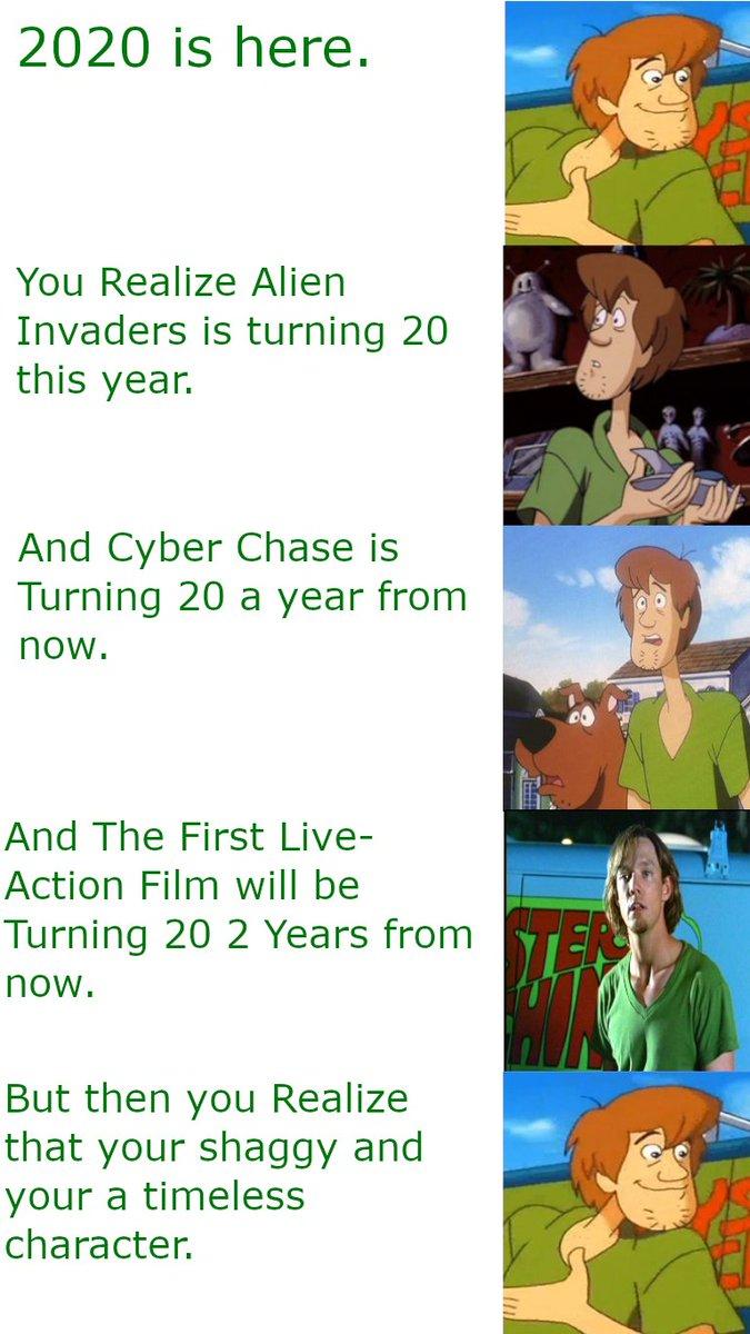 Like man We're all getting old. #shaggy #shaggyrogers #shaggymemes #ScoobyDoo #Memespic.twitter.com/NPRsyYEV61