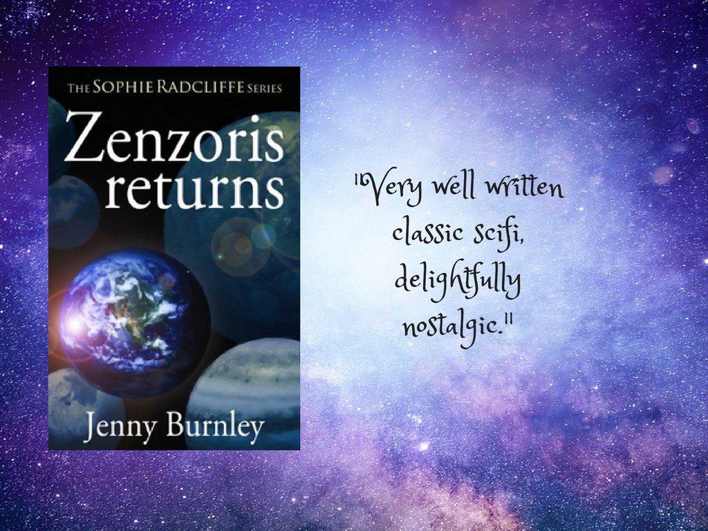 "Via ""@JennyBurnley1 ""A great science fiction adventure story""  ZENZORIS RETURNS    #fantasy #scifi"