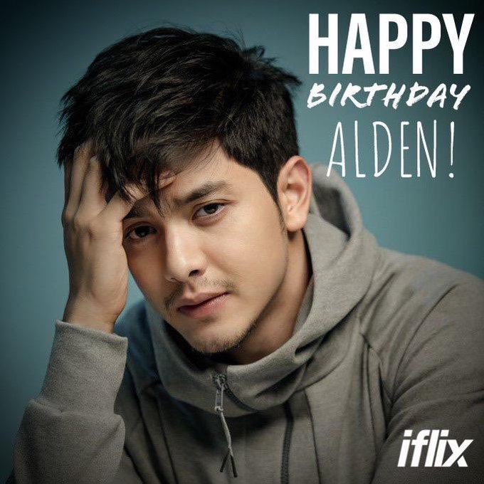 We won\t let the day pass without greeting Alden Richards a happy birthday!