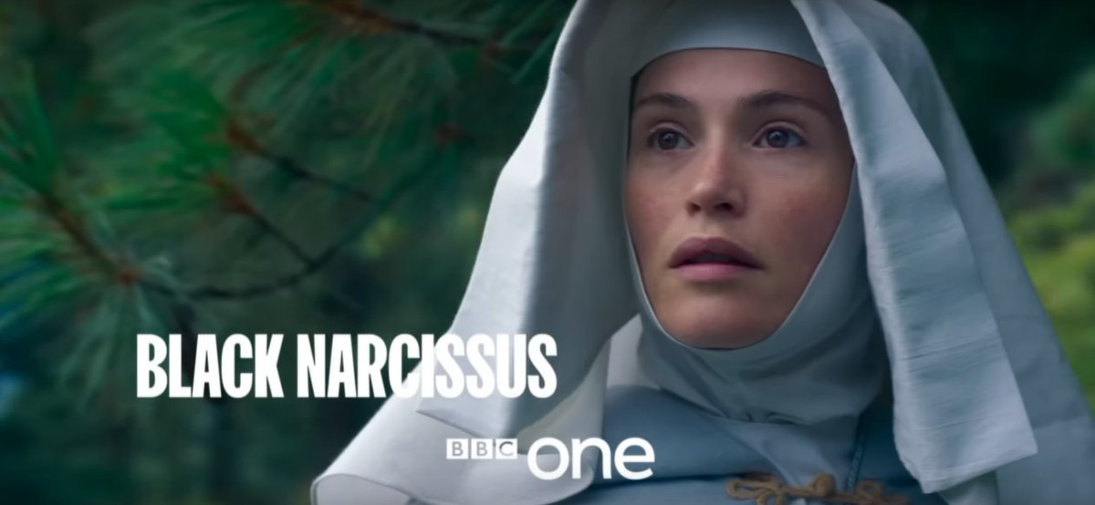 Black Narcissus BBC 2020, avec Gemma Arterton et Alessandro Nivola ENRUjzqX0AAmsh7