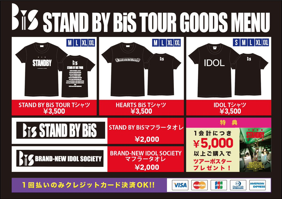 【BiS OFFiCiAL GOODS】1/4からの『