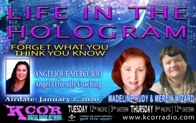 Today is the day... Listen #radioshow #kcor #lifeinthehologram #angelsfriendlycoaching