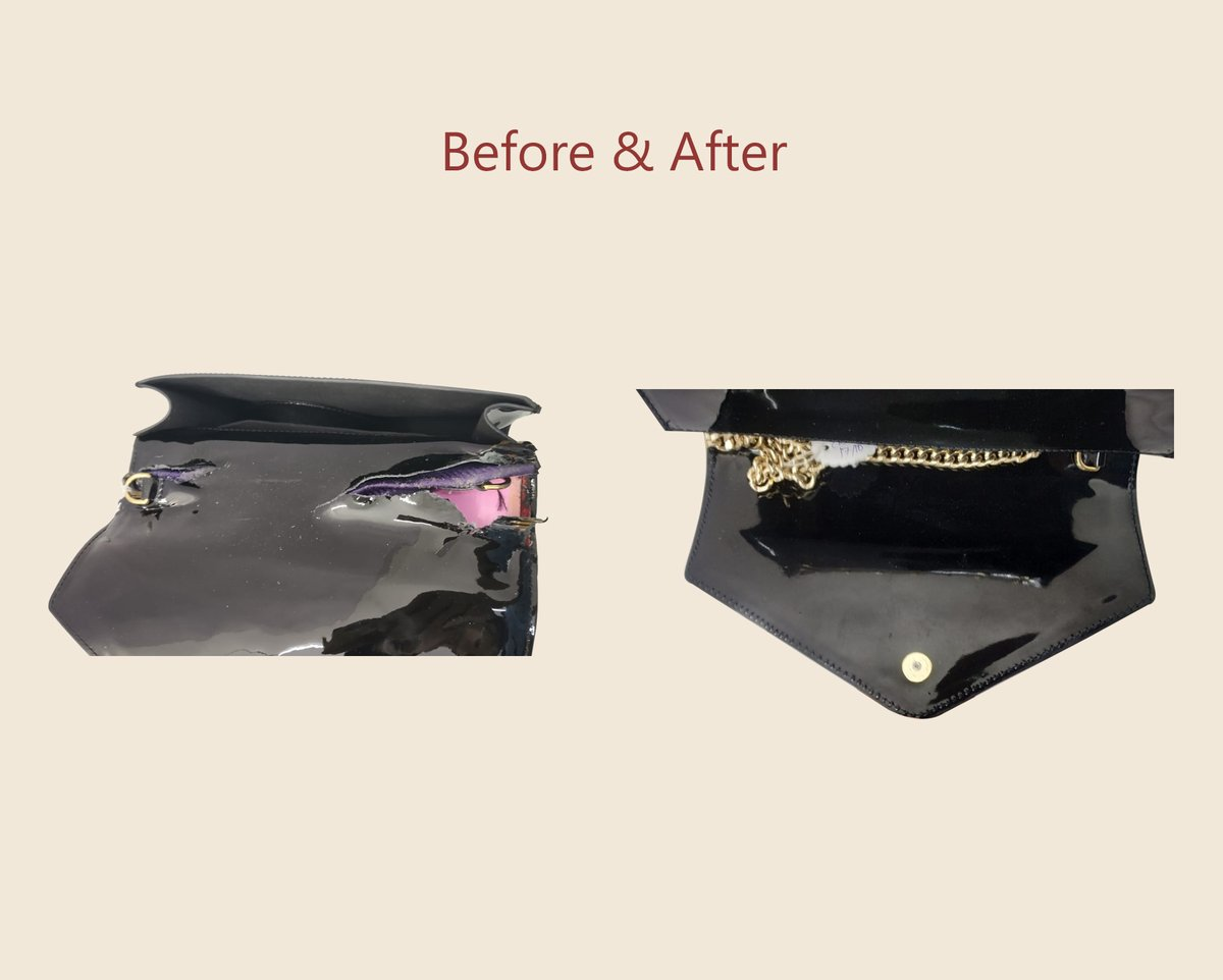 The Leather Laundry On Twitter Saint Laurent Handbag Repair Flap Replacement Remember To Repeat Is Chic Buy Wear Repeat Leatherlaundry Ysl Bagrepair Beforeandafter Delhi Mumbai Https T Co Dmv9elja4n