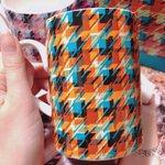 Francfrancに売っていた!めちゃくちゃぬるさらカラーの千鳥柄のマグカップ!