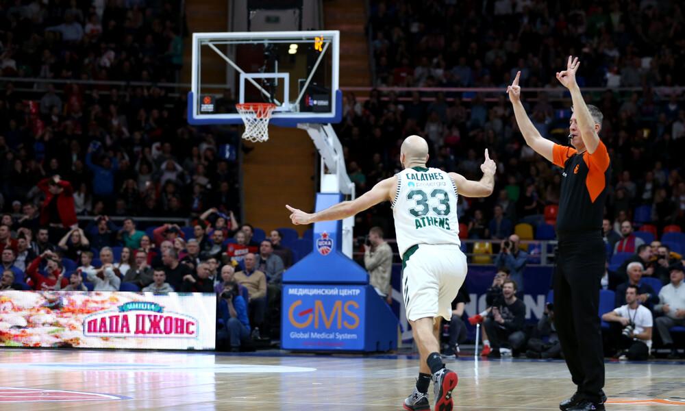 ☘️ Ο Panathinaikos BC νίκησε δύο φορές την ΤΣΣΚΑ πέρσι, με τον Ρικ Πιτίνο στον πάγκο του 🤔 Θα τριτώσει το καλό στο Καλίνιγκραντ (3/1, 19:00); 📰 Διαβάστε το preview του αγώνα στο Noviblog 🔗http://novi.link/cska-pao #euroleague #paobc #cska #panathinaikos