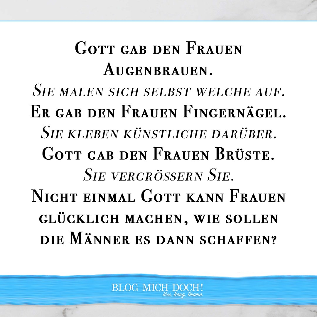 Schonmal geschafft eine Frau glücklich zu machen? Ich auch nicht!   Mehr auf: https://blogmichdoch.de  #blogmichdoch #kissbangdrama #team_julian #blog #blogger_de #instablogger_de #germanblog #hamburgblogger #hamburg #berlin #münchen #frankfurt #kölnpic.twitter.com/7FlPgmlfKr