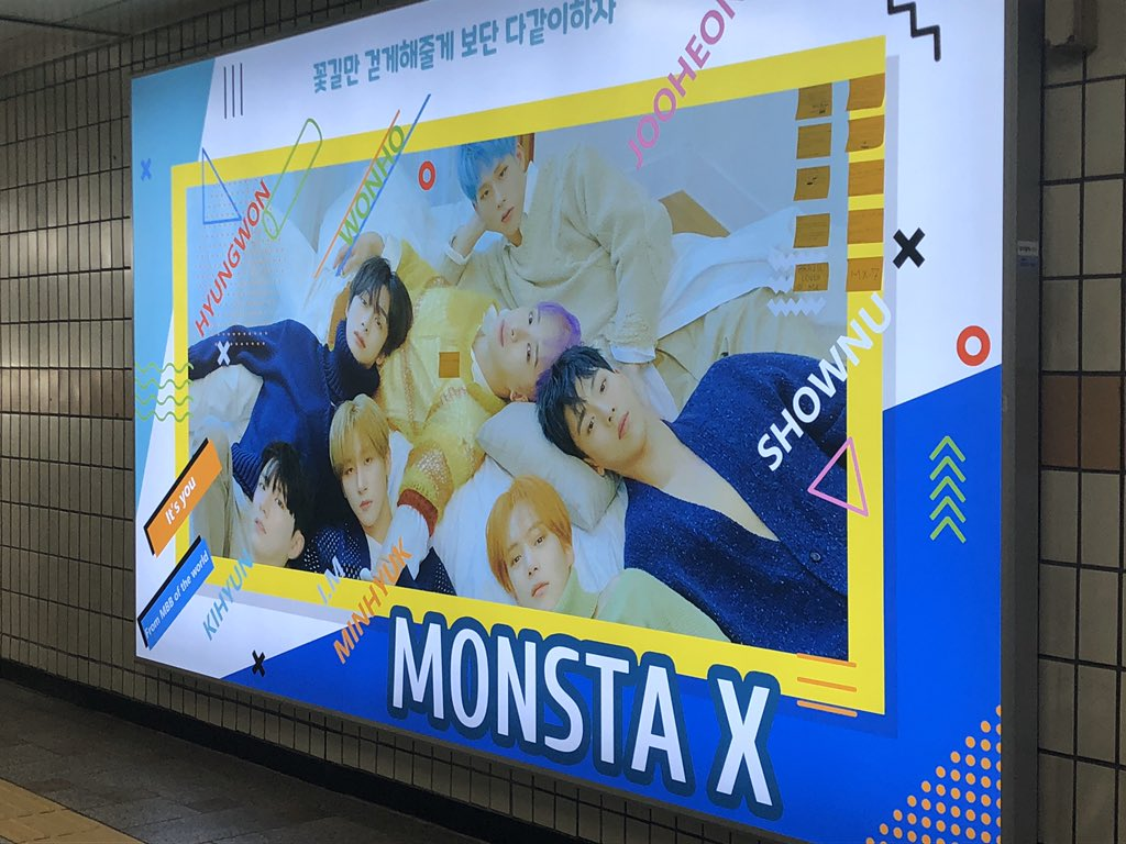@mysweetcarrot31  Thank you for doing this support. I was so happy that i bumped into see this AD. Miss u..#압구정 #1번출구 #monstaxpic.twitter.com/3GOSLjCOEG