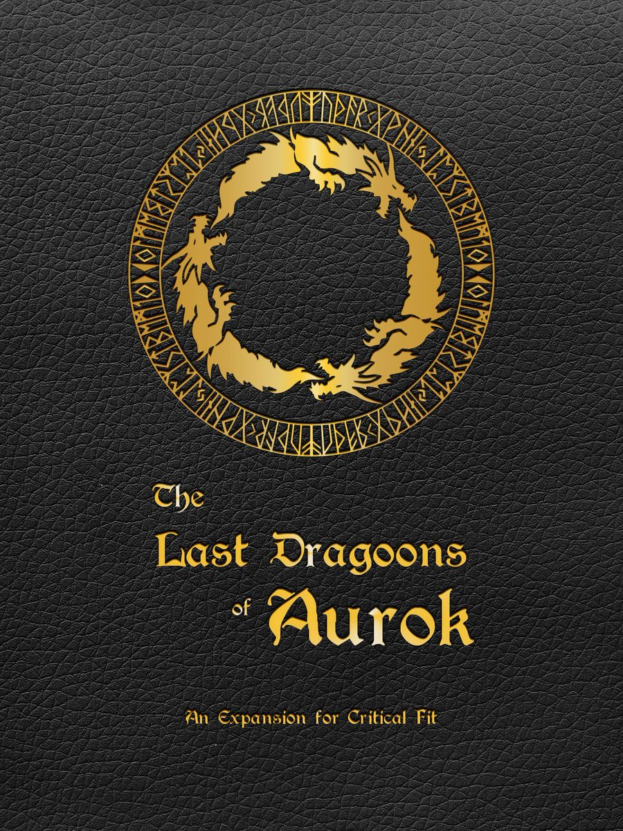 #ThrowbackThursday is for The Last Dragoons of Aurok, our first expansion for Critical Fit!  Epic workouts for Fighters, Barbarians, and Rangers! This book is a true choose-your-own-adventure tale where your workouts determine your path.  Pick it up at https://buff.ly/2t9UcMP!pic.twitter.com/lW8apKq4eo