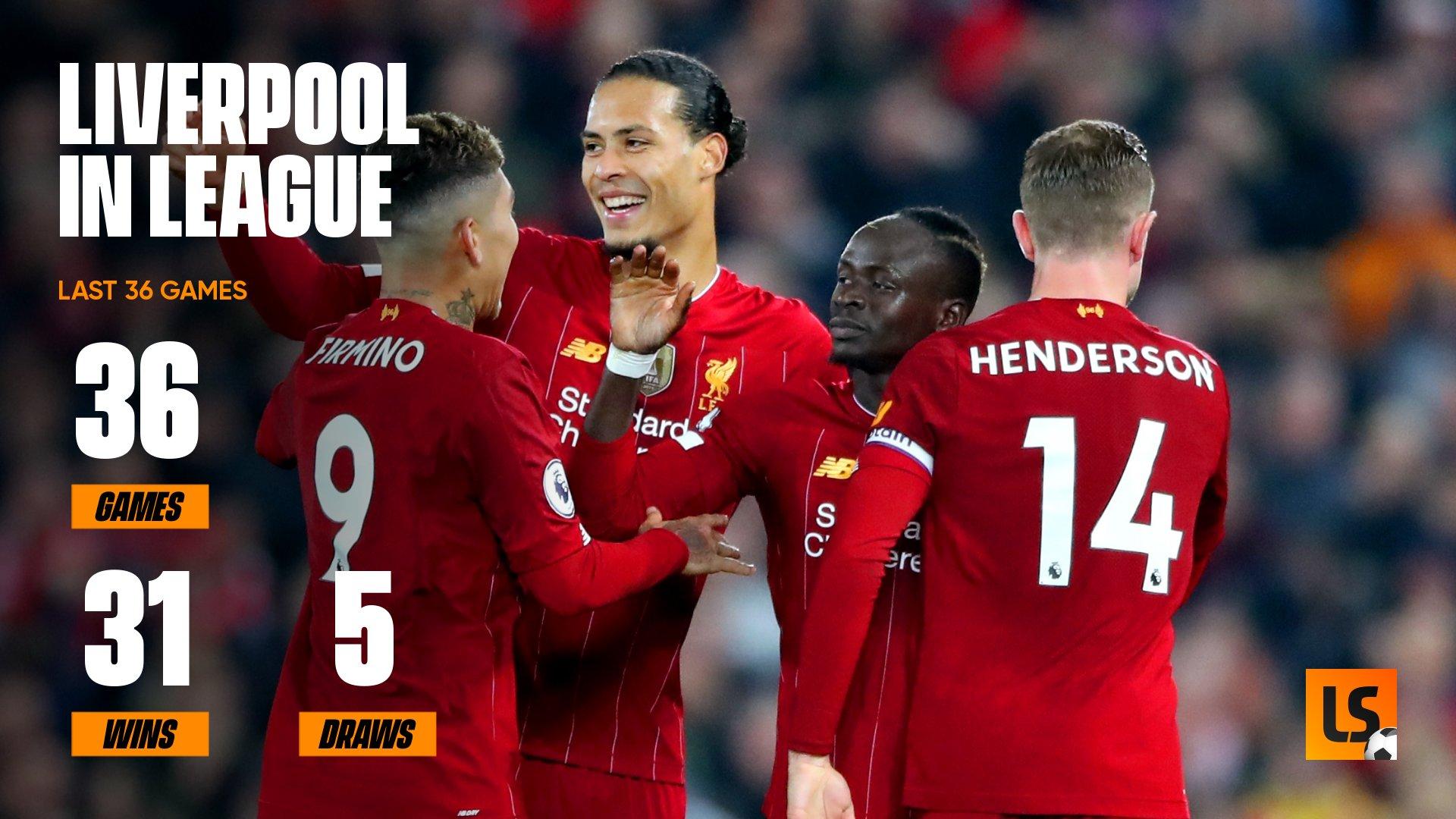 Statistik Liverpool