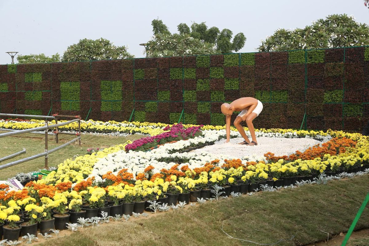 Ahmedabad Flower Show 2020 by AMC during 4-19 January