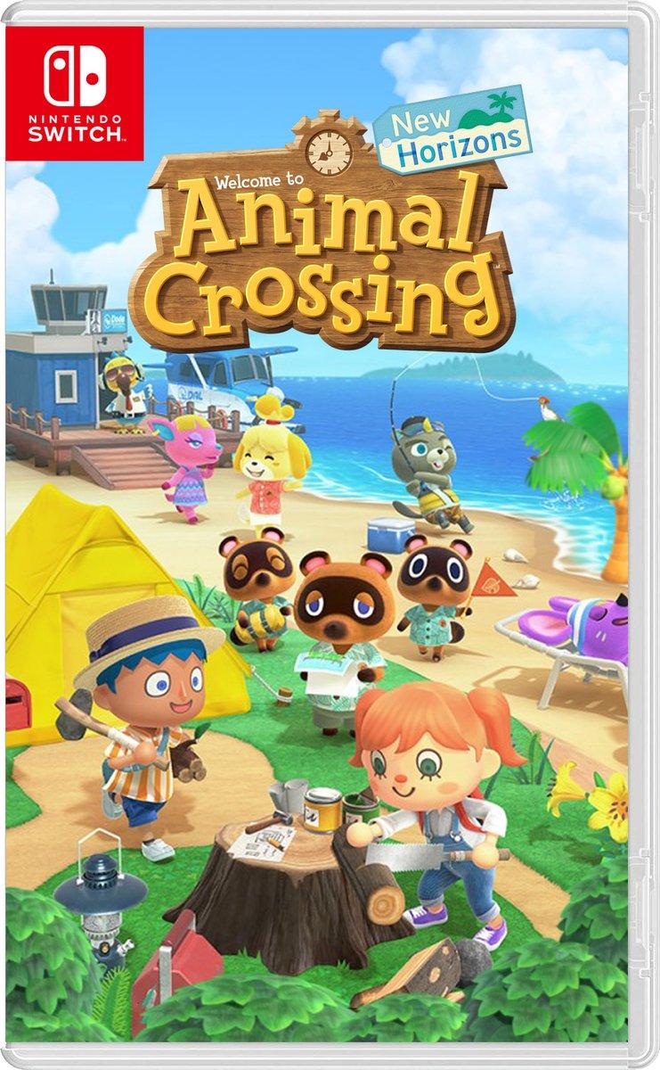 Los 40 juegos mas vendidos de Nintendo Switch - ventas totales animal crossing new horizons