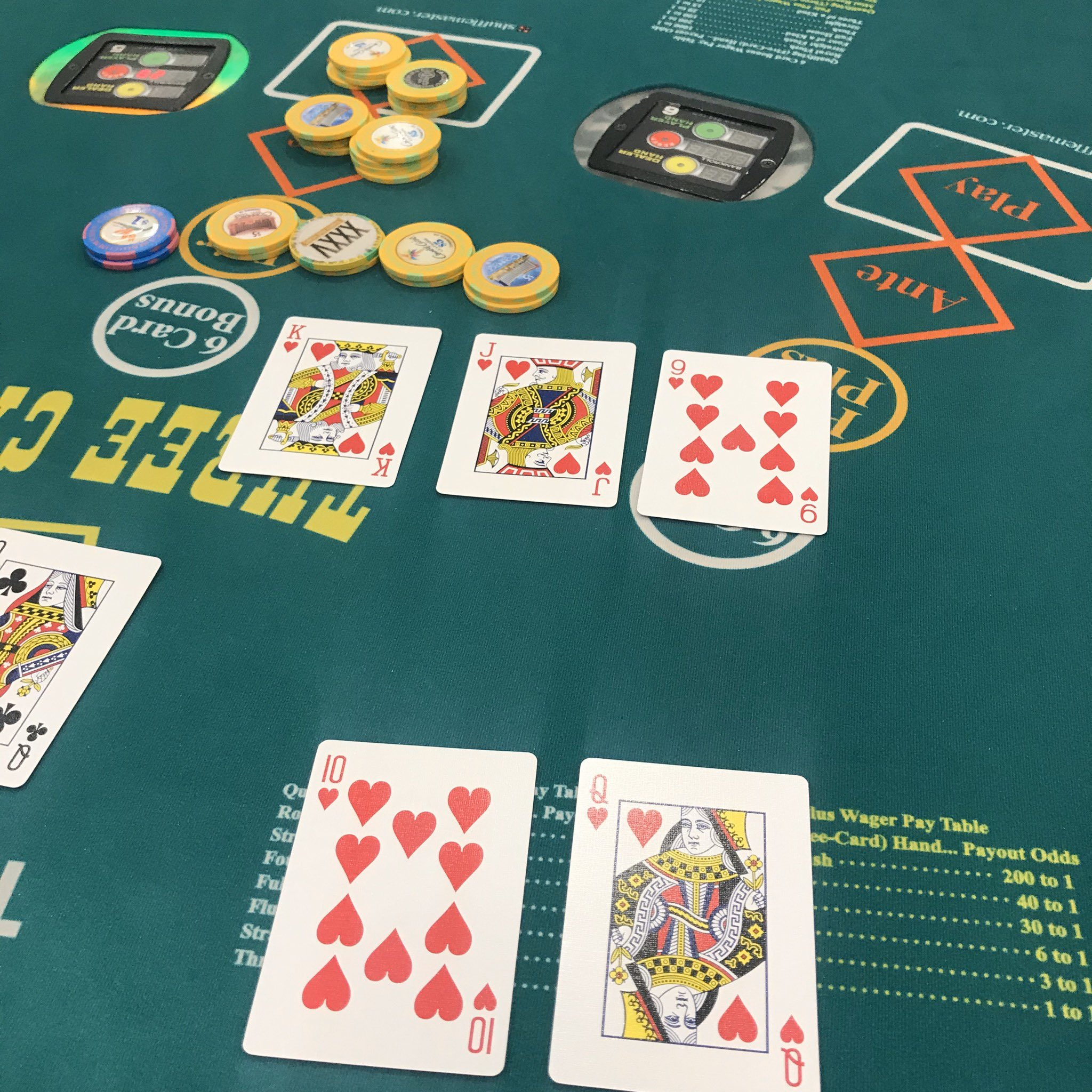 Commerce casino 3 card poker novomatic fv 624
