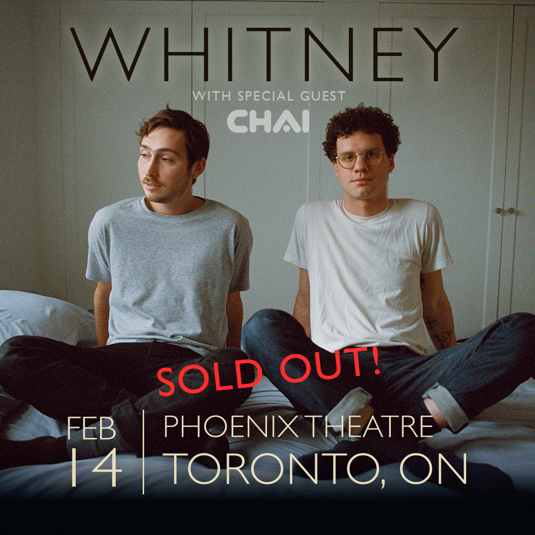 TORONTO - This one is SOLD OUT, thank you for getting your tickets in advance!