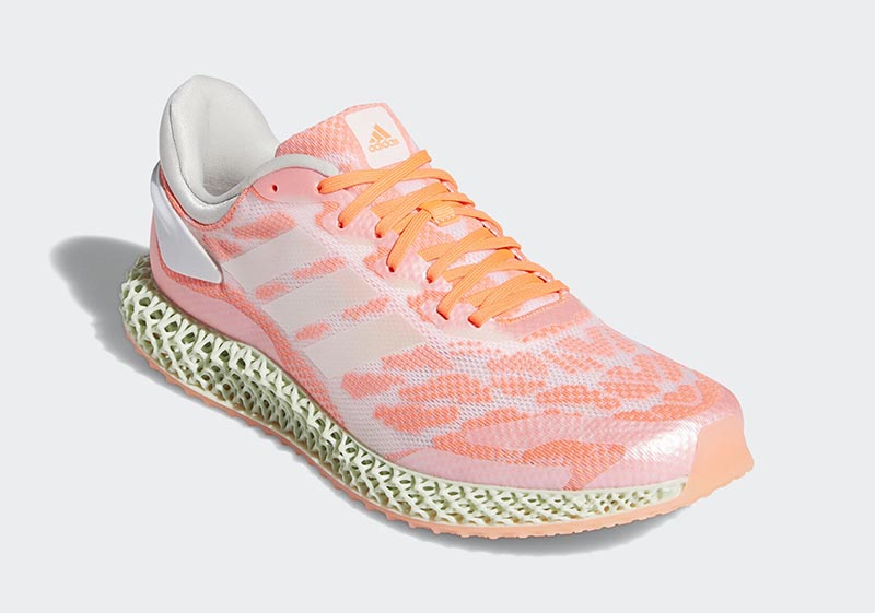 """Adidas 4D Run """"Signal Coral"""" với 2 phối màu"""