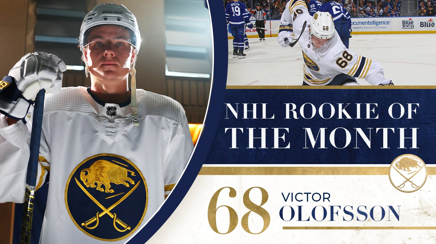 Victor Olofsson named Rookie of the Month for December