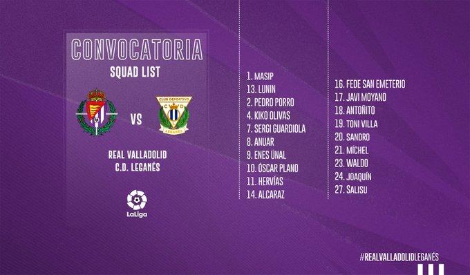 ENTH2I9WkAAWN5h?format=jpg&name=small Barba y Nacho fuera de la convocatoria para jugar ante el Leganés - Comunio-Biwenger