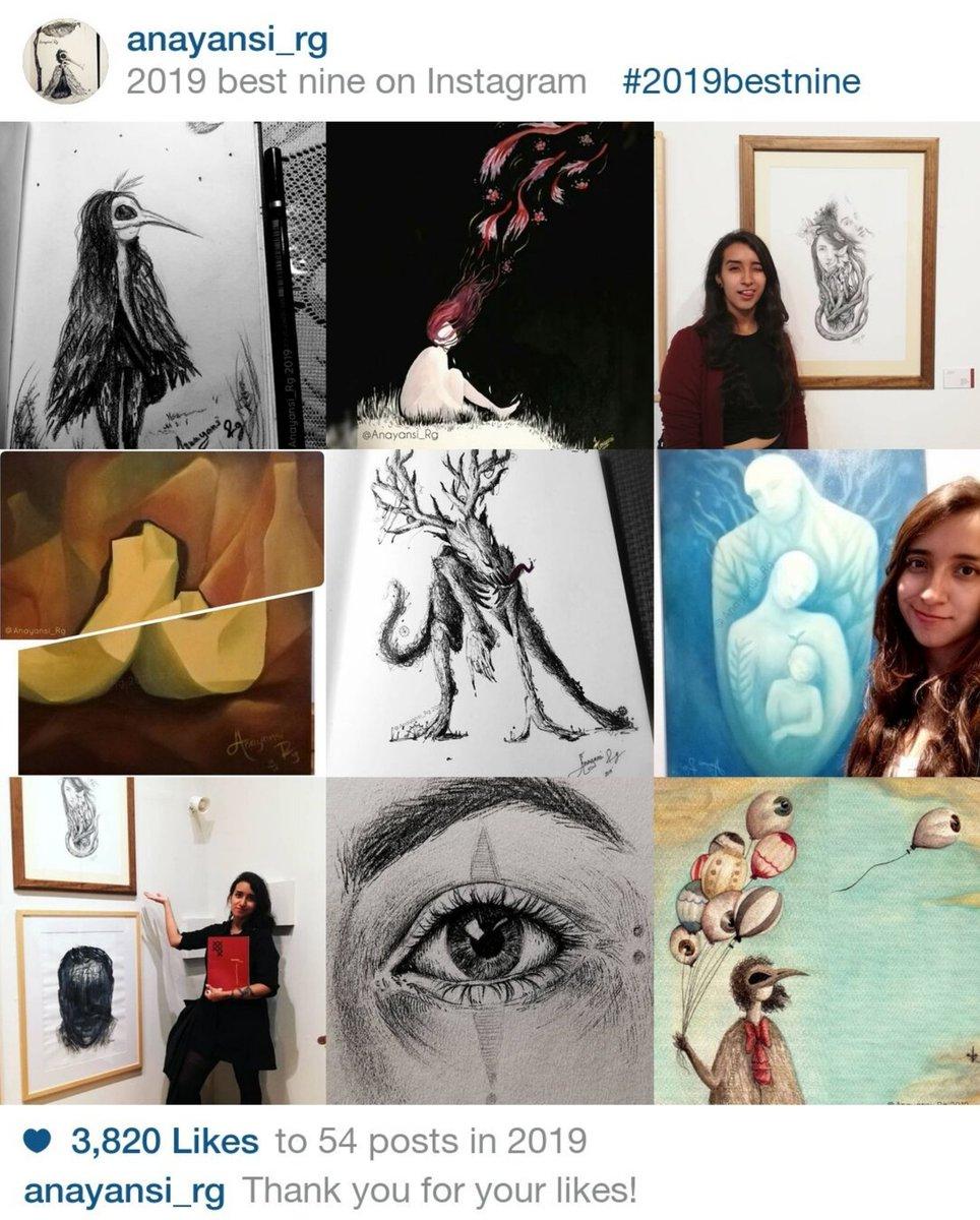 Fue un gran año! . #2019bestnine #Illustration #AnayansiRg #art #UnZumbadormensajero #UnZumbador #bestnine2019 #thanks2019 #darkillustration pic.twitter.com/unlo4VG4xS