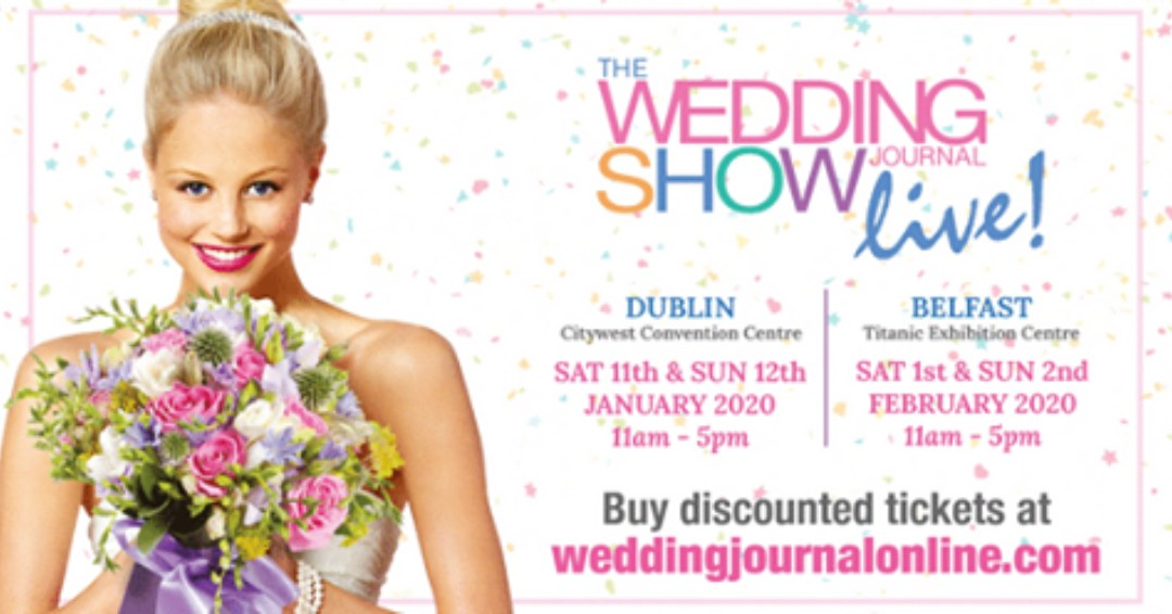 We are delighted to once again be exhibiting at Wedding Journal show in City West on Saturday 11th and Sunday 12th January. If you are in Dublin why not pop along and call in to see us and have a chat about your wedding plans. https://t.co/YHeTO0nA1F